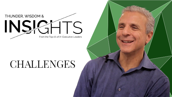 Challenges with Alain Benzaken