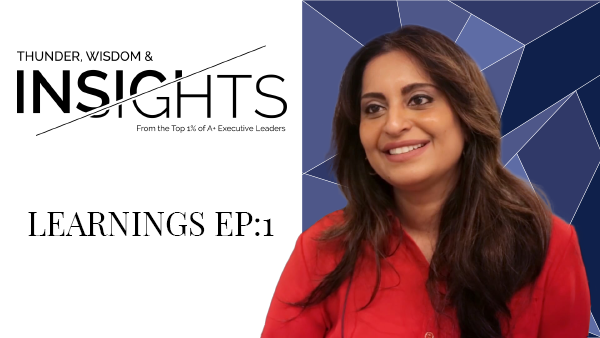 Learnings 1 with Aditi Javeri Gokhale
